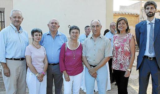 Toni Ruano, Concepción Alarcón, José Tamayo, Carmen Alarcón, Juan Antonio Alarcón, Gero Balaguer y Dib Morad.