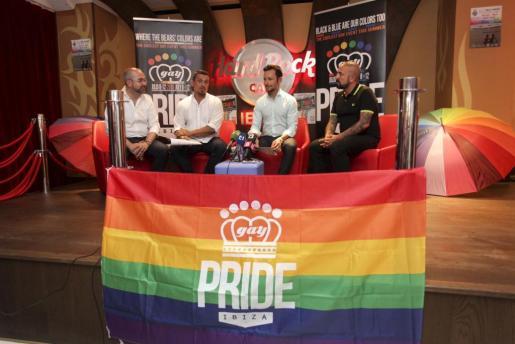 Presentación de Ibiza Gay Pride, que se celebra la próxima semana. Foto: DANI ESPINOSA