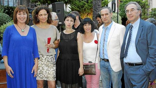 Francina Armengol, Catalina Cladera, Silvia Cano, Antonia García, Xavier Ramis y Martí March.