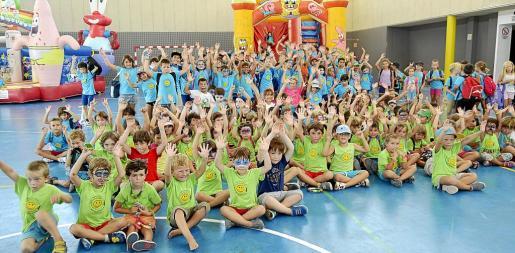 Participaron un total de 210 niños, que lo pasaron en grande.