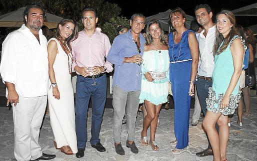 Fernando Robledo, Carmen Lliteras, Esteban de Miguel, Jorge Sainz de Baranda, Isabel Hernández, Cristina Planas, Stanis Planas y Teresa Mier.