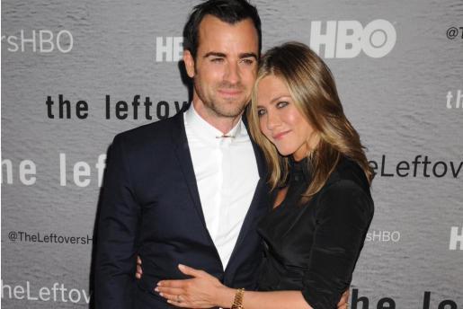 Justin Theroux y Jennifer Aniston, en una imagen de archivo.