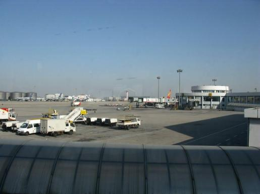 Imagen de archivo del aeropuerto de Pekín.