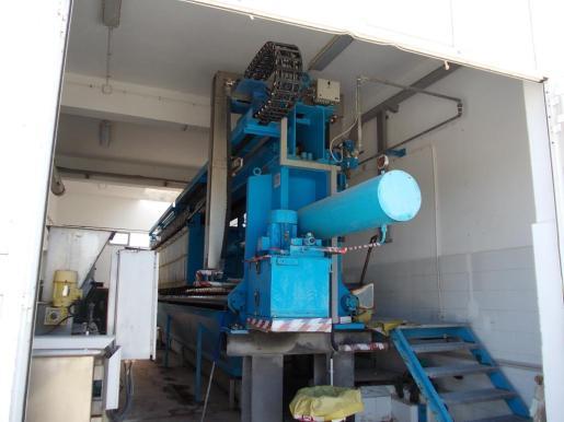 La máxima institución insular asegura que la máquina compactadora de los fangos no funciona. Foto: MARTA VÁZQUEZ