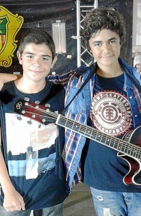Marc Cuevas y Juan José Tur, ganadores del concurso.
