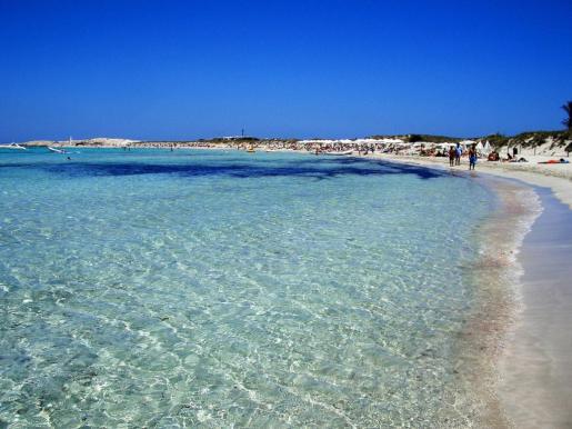 Ses Illetes, una playa idílica en Formentera.