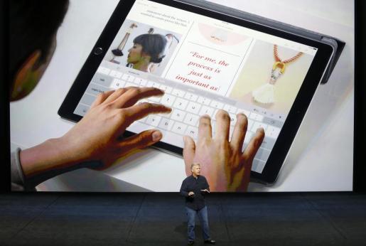 Presentación del nuevo iPad Pro de Apple.