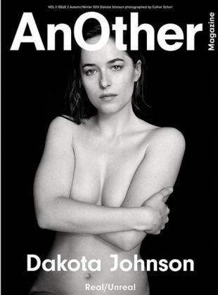 Portada de la revista 'AnOther', con Dakota Johnson.