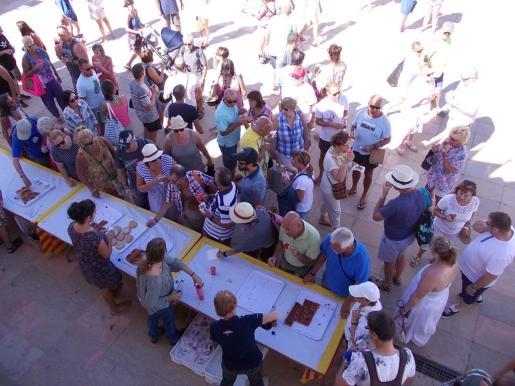 El día del turista en Formentera congregó mucha gente. Foto: M.V.