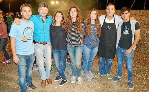 Andreu Villalonga, José Fernández, Maria del Mar Pascual, Maria Francisca Miquel, Marina Fernández, Jeroni Salom y Tomeu Moyà..