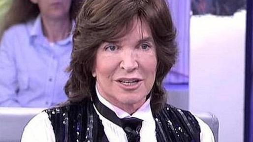 Camilo Sesto, durante un momento del programa de María Teresa Campos.