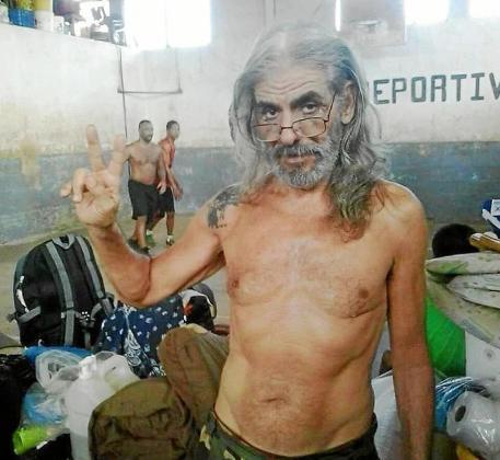Imagen de Juanjo Marí Cabrales tomada en un pabellón de la prisión de La Joya.