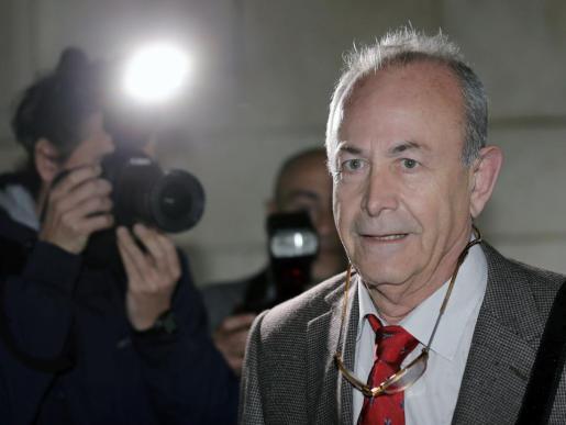 El juez José Castro, en una imagen tomada en Valencia durante la instrucción del caso Nóos.