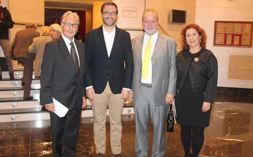 Wolf Bruemmel, José Hila, Utz Claassen y María Ángeles Fernández.