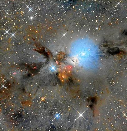 La imagen ha sido obtenida por el telescopio de cala d'Hort.