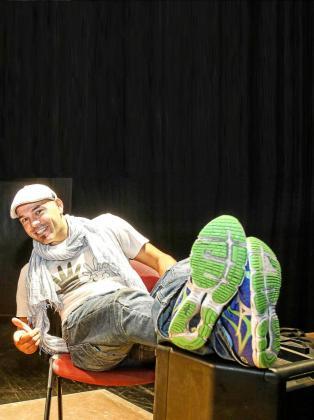 El humorista, José Boto. Foto: TONI ESCOBAR