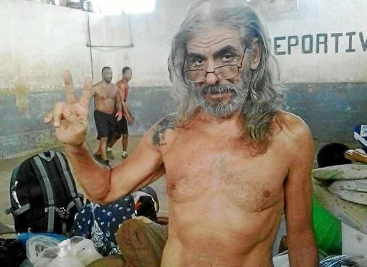 Imagen del ibicenco Juan José Marí Cabrales en la prisión de La Joya de Panamá.