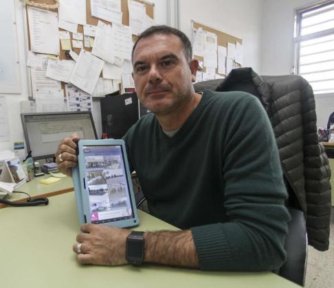 Pedro Mulero es el creador de esta aplicación que funciona desde hace apenas un año. Foto: DANI ESPINOSA