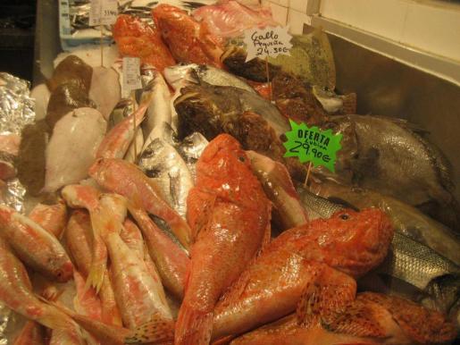 Salmonetes, rotjas, doradas, gallo de San Pedro, lenguados y lubinas se pueden encontrar a buen precio. Fotos: R.J.D.O.