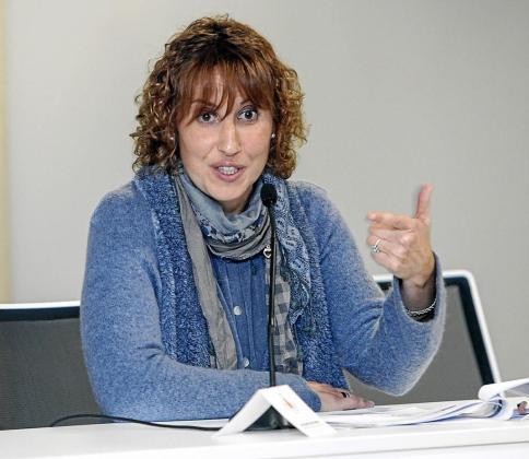 Paloma Amil, ayer en su intervención en la sede de la UIB de Eivissa.