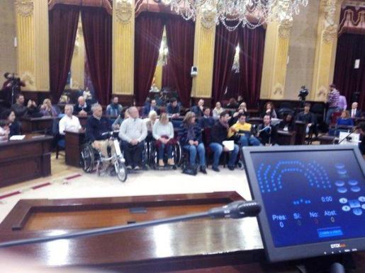 Sesión participativa en el día de las personas con discapacidad.