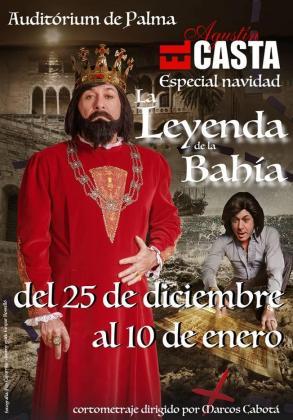 'La leyenda de la Bahía' es el título del especial de Navidad de Agustín 'el Casta'.