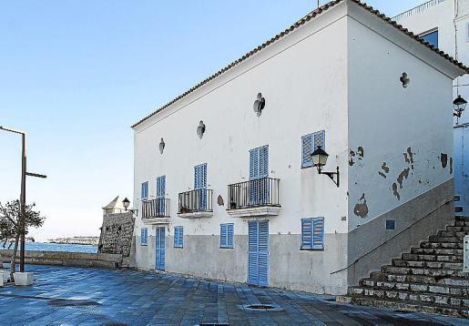 El antiguo Casal de Joves de Vila, en una imagen de esta semana.