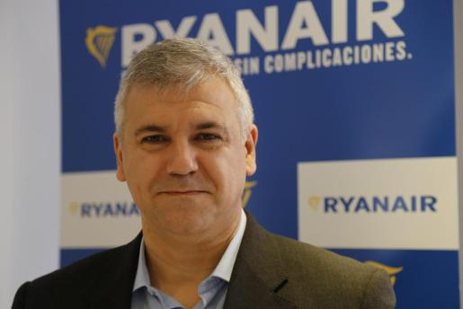 José Espartero, responsable de Ventas y Marketing de Ryanair.
