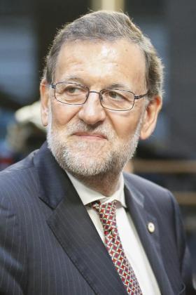 El presidente del Gobierno, Mariano Rajoy, a su llegada a la Cumbre de los Jefes de Estado y de Gobierno de la Unión Europea (UE), en Bruselas, Bélgica.