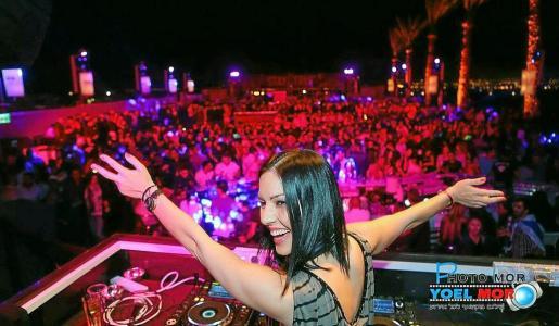 Anna Tur, directora de Ibiza Global radio, en Israel. Foto: IGR