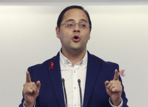 El secretario de Organización de Partido Socialista Obrero Español (PSOE), César Luena.