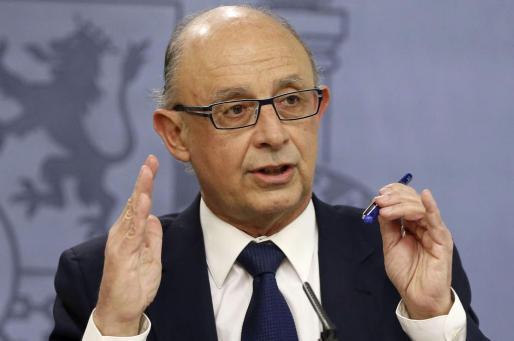 El ministro de Hacienda y Administraciones Públicas, Cristóbal Montoro, en una imagen de archivo.