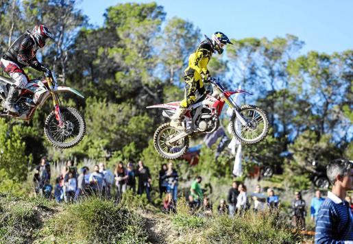 Un instante de la prueba del Campeonato de Balears 2015 celebrada en el circuito de Cala Bassa.