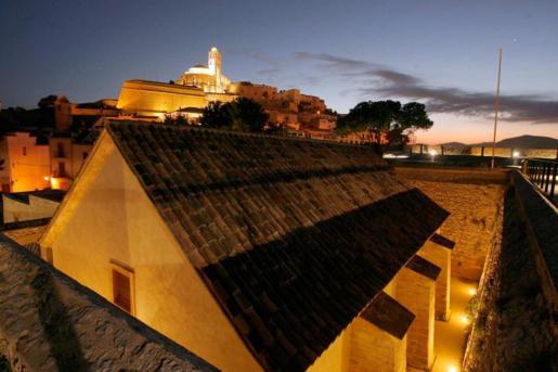 Es Polvorí, el espacio cultural de la Fundació Baleària en Eivissa.