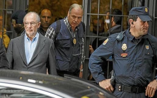 Rodrigo Rato fue detenido en abril de 2015 acusado de blanqueo de dinero.