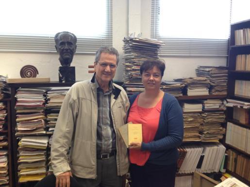Francesc y Susana Moll en una imagen de archivo.