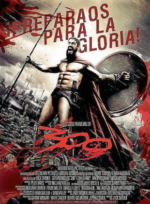 Fotograma del film '300', dirigido por Zack Snyder.