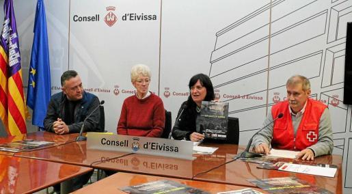 El concierto se presentó ayer por la mañana en el Consell d'Eivissa.
