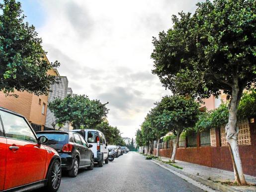 La calle Pare Antoni Guasch, en el barrio de es Viver.