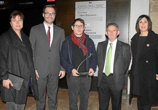 Susanna Moll, José Hila, Carles Congost, Miquel Perelló y Francisca Niell.
