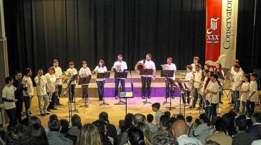 Un momento del concierto. Foto: TONI ESCOBAR
