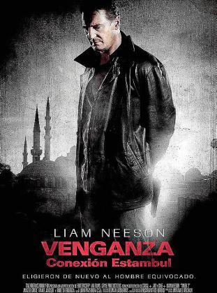 Cartel de la película 'Venganza: Conexión Estambul'.