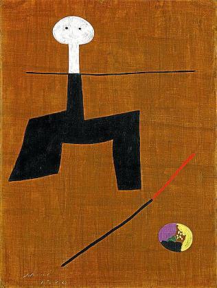 'Peinture' (1930), de Joan Miró, se vendió por 796.000 euros en la subasta de ayer.