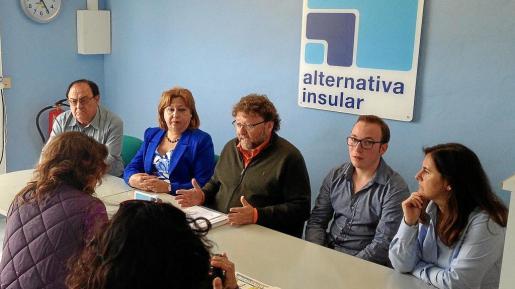 Al–In tiene dos concejales en el pleno Sant Josep, Vicent Torres y Encarna Castro.