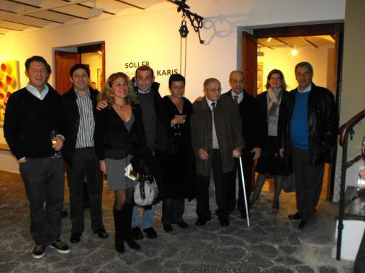 Christian Karis, Óscar Mayol, Lourdes Moreno, Santiago Mayol, Carmen Serra, Amador Pastor, Bartomeu Oliver, Anabella Pizá y Toni Pons.