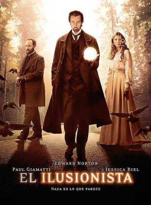 Cartel del film 'El ilusionista'.