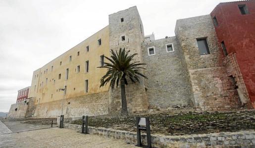 Imagen del estado actual del Castillo de Vila que albergará el futuro Parador Nacional, que será el primero de las Balears.