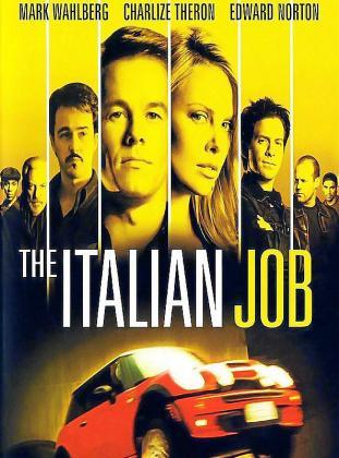 Cartel de la película 'The Italian Job'.