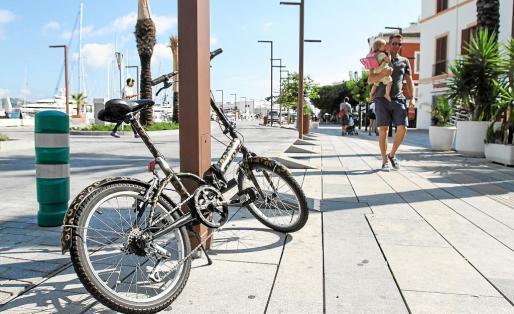 Las instituciones de la isla se han comprometido a luchar contra el robo de bicicletas.
