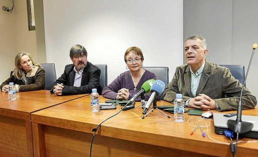 Vila hizo la presentación de los actos promocionales de la ITB en el Museu Arqueològic. Foto: DANIEL ESPINOSA